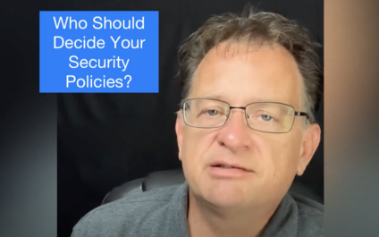 IT Shouldn't Decide Security Policy